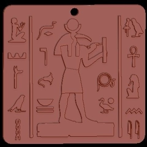 Free 3D printer files Egypt Pharoah, quangdo1700