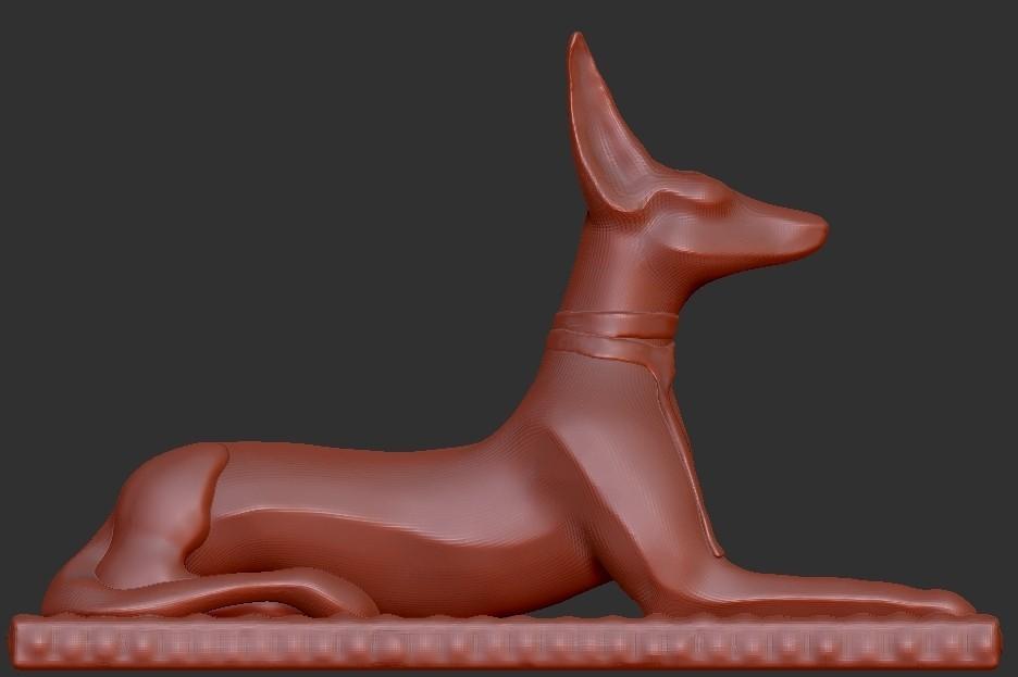 Anubis.jpg Download free STL file Egypt Anubis • 3D printable model, quangdo1700