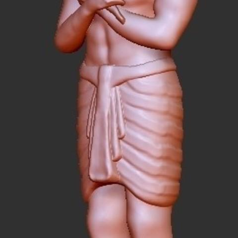 Free 3D printer files Egypt God Horus, quangdo1700