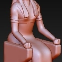 Download free 3D printer designs Egypt Goddess Nephthys, quangdo1700