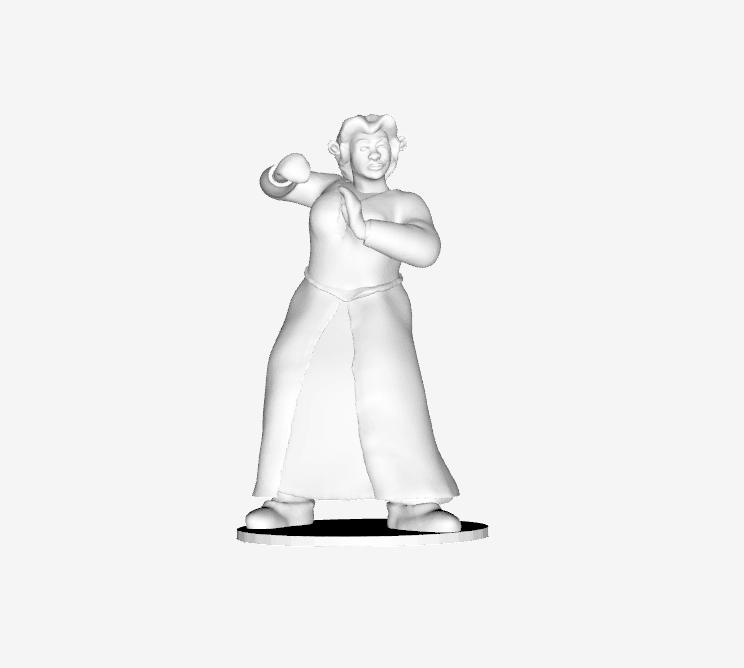 Capture d'écran 2018-02-07 à 16.10.36.png Download free STL file Shrek - Fiona - Fighter • 3D printable template, quangdo1700