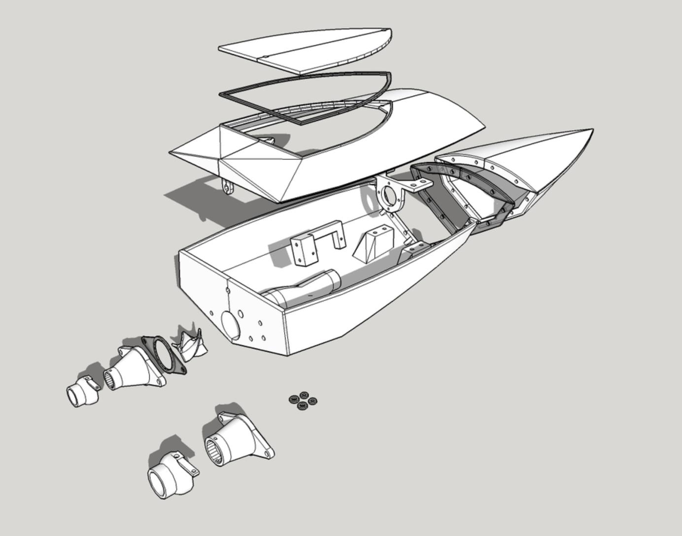 Capture d'écran 2018-01-30 à 11.40.33.png Download free STL file 3DRC RC Jet Boat Prototype • 3D printable design, finhudson16