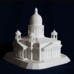 Free 3D printer model Saint Isaac's Cathedral, juanmi_260
