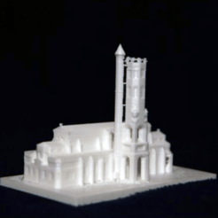 Free 3D print files Sainte Catherin Church - Villeneuve-sur-Lot, juanmi_260