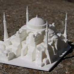 Download free 3D printing files Hagia Sophia, juanmi_260