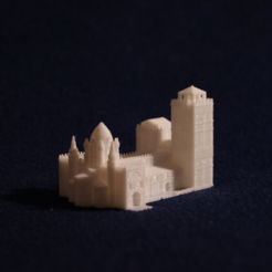 Download free 3D printer templates Old Slamanca's Cathedral, juanmi_260
