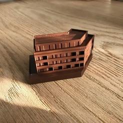 IMG_1428.JPG Télécharger fichier STL Développement urbain, maison multifamiliale. Maison de ville. • Plan imprimable en 3D, tradepointcz