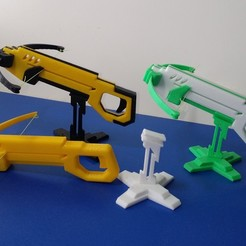 Free 3D printer file Repeating mini crossbow, parkgwansu339