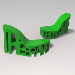 untitled.2.jpg Download STL file Shoe. The brave, • 3D print template, URkA