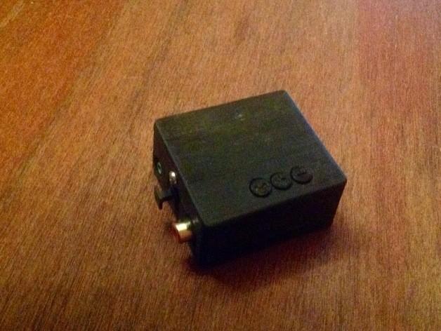 10.jpg Download STL file BOX for PCM2704 USB DAC • 3D printer template, URkA