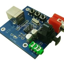 modelo stl CAJA para PCM2704 USB DAC, URkA