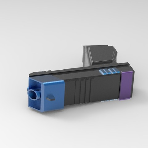 pist1.18.jpg Download STL file Gun for a cosplay. • 3D printing design, URkA