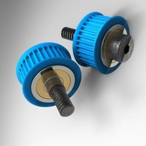 Download 3D printer designs Belt Idler pulley GT2, URkA