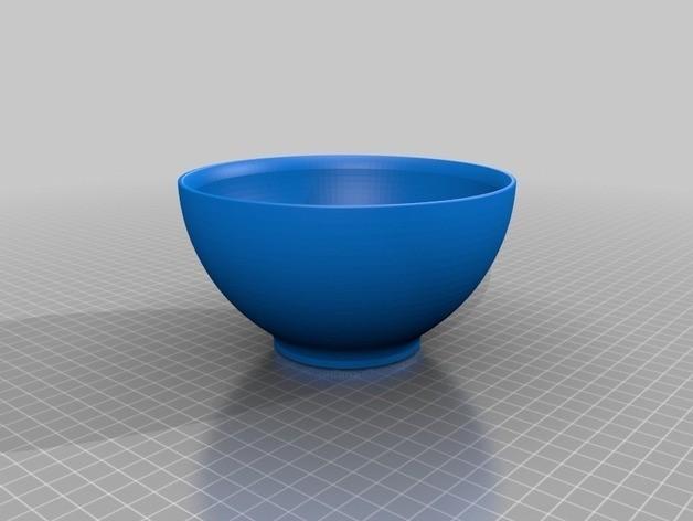 23d63cf66abc264f9def819d17c4641d_preview_featured.jpg Download STL file drinking bowl, • 3D printer design, URkA