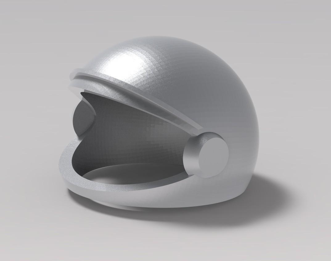 1.jpg Download STL file astronaut's helmet • 3D printable object, URkA