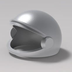 1.jpg Download STL file astronaut's helmet • 3D printable object, URkA