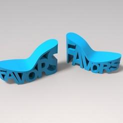 untitled.3.jpg Download STL file Shoes. Favors. • 3D printable model, URkA