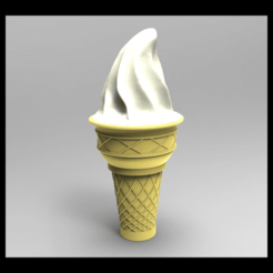 Download STL files ice cream, URkA