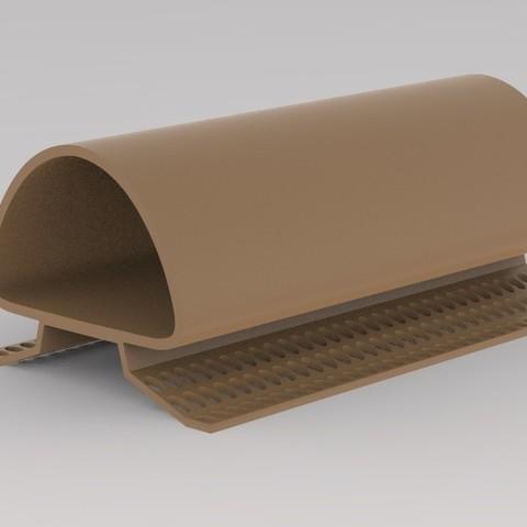 Impresiones 3D Tubo para Loricarioidea de bagre, URkA