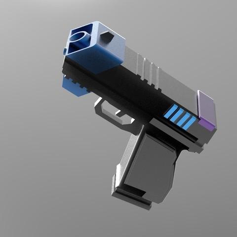 pist1.16.jpg Download STL file Gun for a cosplay. • 3D printing design, URkA