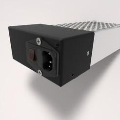 3d printer designs Cover PSU, URkA