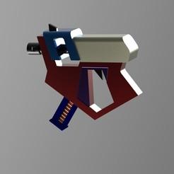 modelos 3d Pistola para un cosplay, URkA