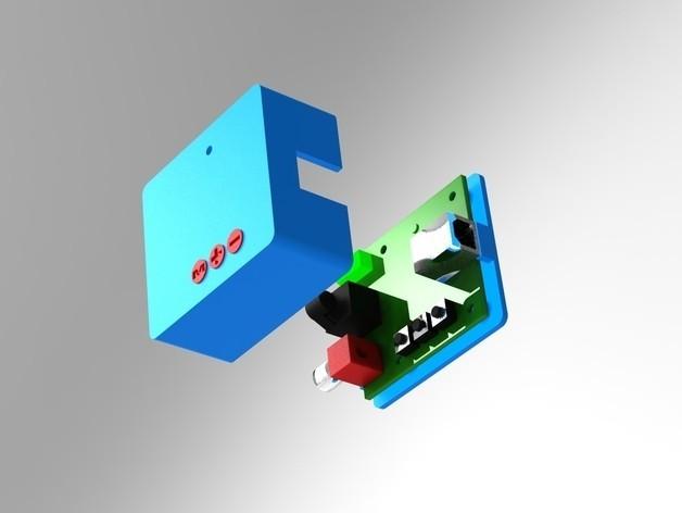 9.jpg Download STL file BOX for PCM2704 USB DAC • 3D printer template, URkA