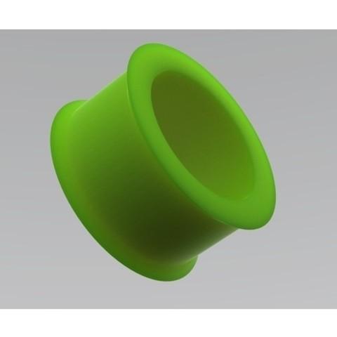 Free 3d printer model belt idler pulley, URkA