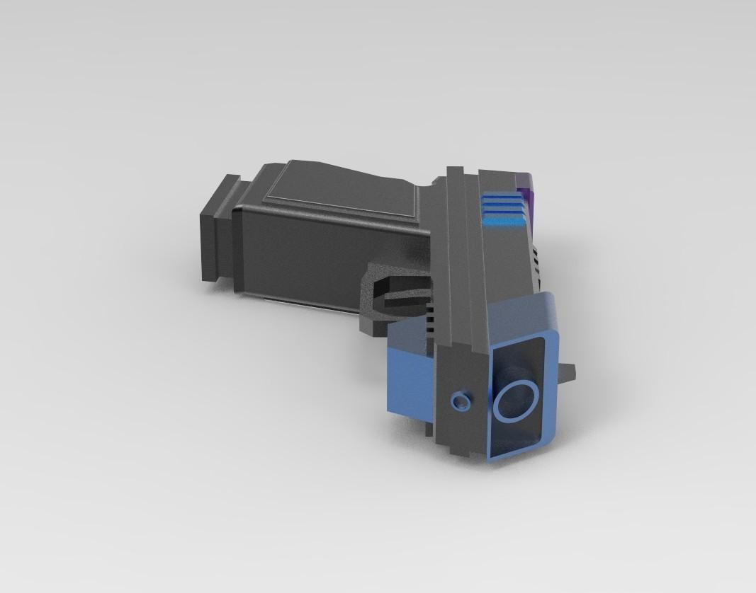 pist1.17.jpg Download STL file Gun for a cosplay. • 3D printing design, URkA