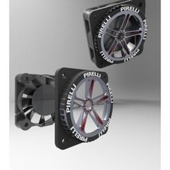 modelos 3d La tapa del ventilador 40х40 mm, URkA