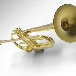 The trumpet 3D printer file, URkA