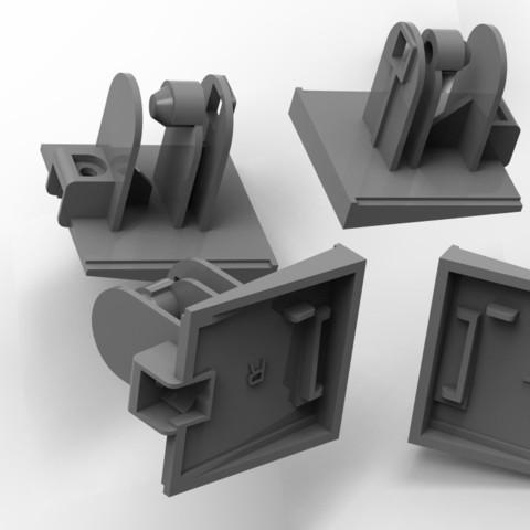 Impresiones 3D El portador de la tapa del filtro de aire Panasonic F-VXH70., URkA
