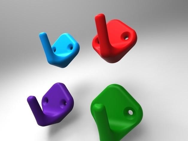 1.jpg Download STL file Hook • 3D printer model, URkA