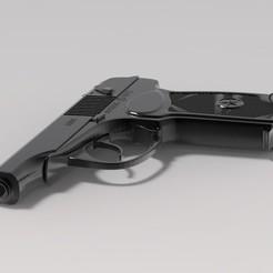 Diseños 3D Pistola PM-2 Makarov, URkA