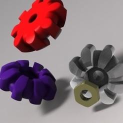 Modelos 3D para imprimir Perilla Thumbwheel M3, URkA