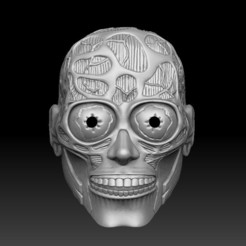 01.jpg Download STL file They Live (Full Mask) • 3D printer design, El_Chinchimoye