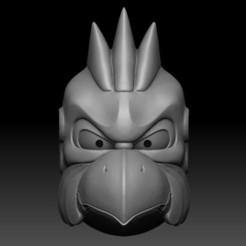 00.jpg Télécharger fichier STL MASQUE KARURA • Modèle imprimable en 3D, El_Chinchimoye