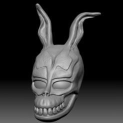 Download 3D printer model Donnie darko mask, El_Chinchimoye
