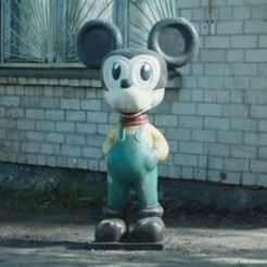 Download STL Chernobyl Mickey Mouse (Pripyat, nuclear), El_Chinchimoye