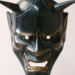 Download 3D printing models Oni Mask, El_Chinchimoye