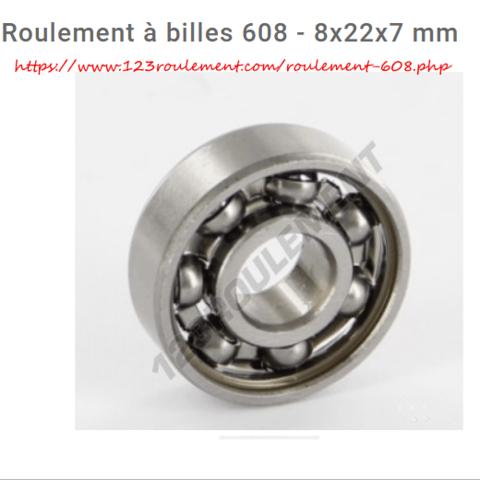 2019-05-31 11_26_25-Roulement à billes 608 - 8x22x7 mm _ 123Roulement.png Télécharger fichier STL girouette  • Plan pour impression 3D, micaldez