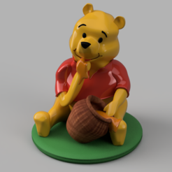 winnie miel.PNG Download STL file winnie • 3D print template, micaldez
