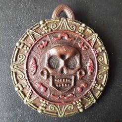 20200310_104305.jpg Download STL file pirate medallion • 3D printer design, micaldez
