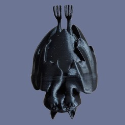 Impresiones 3D gratis murciélago, micaldez