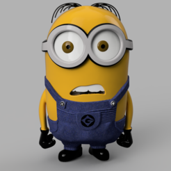mimi.PNG Download STL file minion • 3D print template, micaldez