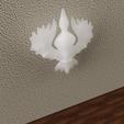 Télécharger fichier 3D gratuit Applique colombe, micaldez