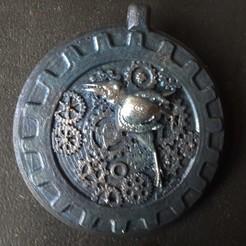 20200310_104400.jpg Download STL file blackbird medallion • 3D printing design, micaldez
