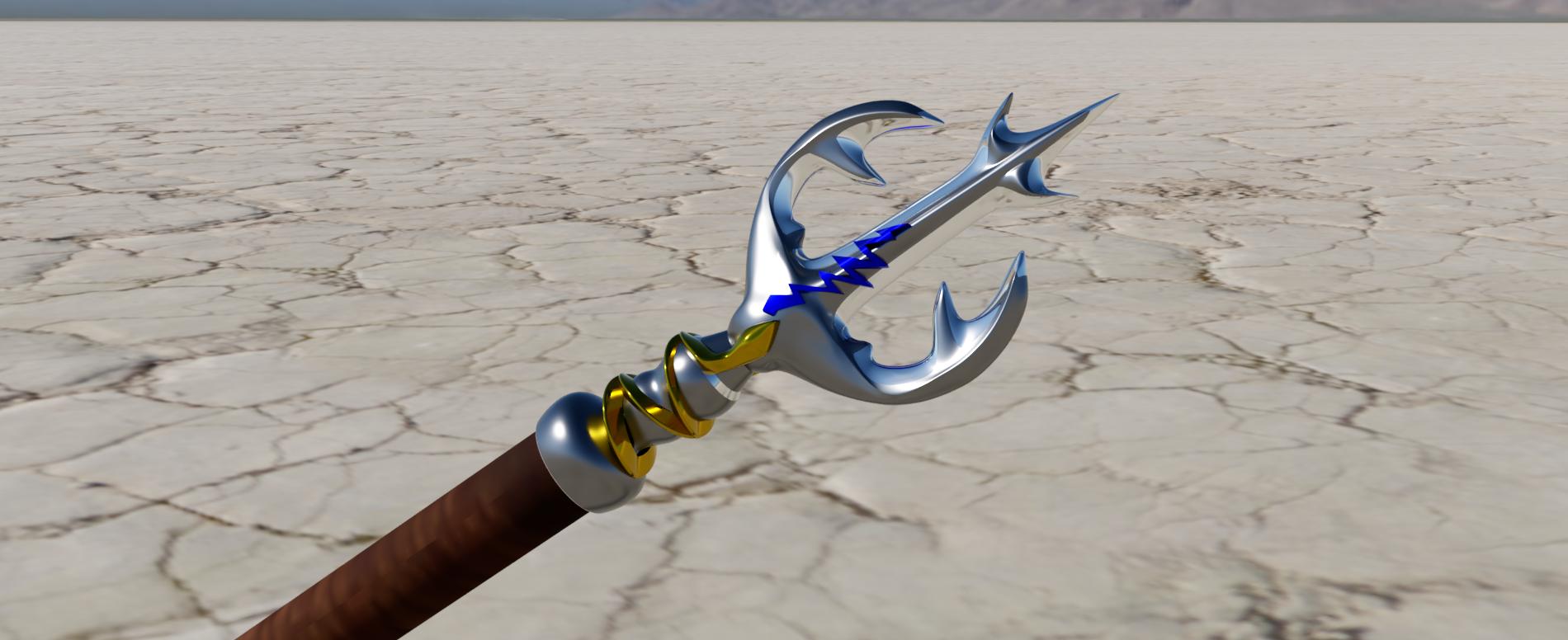 trident 2.png Télécharger fichier STL gratuit trident • Plan imprimable en 3D, micaldez