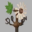 girouette.png Télécharger fichier STL girouette  • Plan pour impression 3D, micaldez