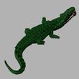 awalé croco 4.PNG Download free STL file Awalé crocodile • 3D printable template, micaldez